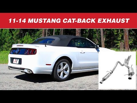 2011-14 Mustang GT - Hurst Elite Series Cat-back Exhaust Systems