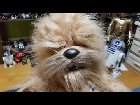 Star Wars Roaring Chewbacca plush review