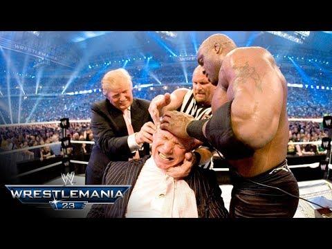 دونالد ترامب WWE