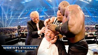 The Battle of the Billionaires takes place at WrestleMania 23