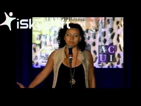 Leslie Valencia performs Ixchel at CUPSI 2012 Finals UCB