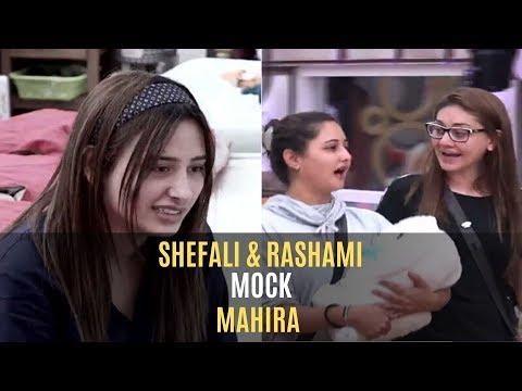Bigg Boss 13: Rashami Desai And Shefali Jariwala Mock Mahira Sharma; Make A Mahira Puppet   TV
