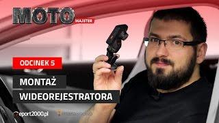 Jak mądrze zamontować wideorejestrator? - motoMAJSTER #5