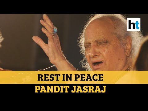 R.I.P. Pandit Jasraj: People flock to pay respects to the singer in New Jersey