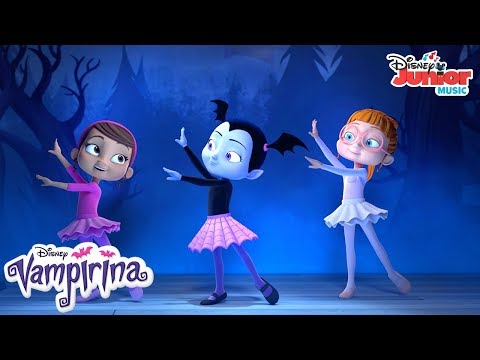 A Great Ballerina | Music Video | Vampirina | Disney Junior