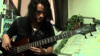 Dope - Slipping Away - Bass cover