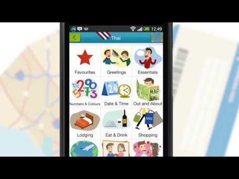 Video of Tap & Say - Travel Phrasebook