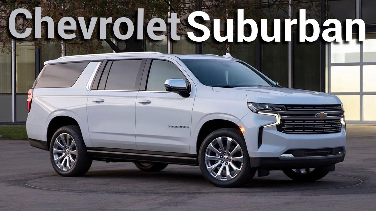Luxe et puissance avec la nouvelle Chevrolet Suburban