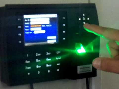 Reloj Biometrico Calle Uno LIMA