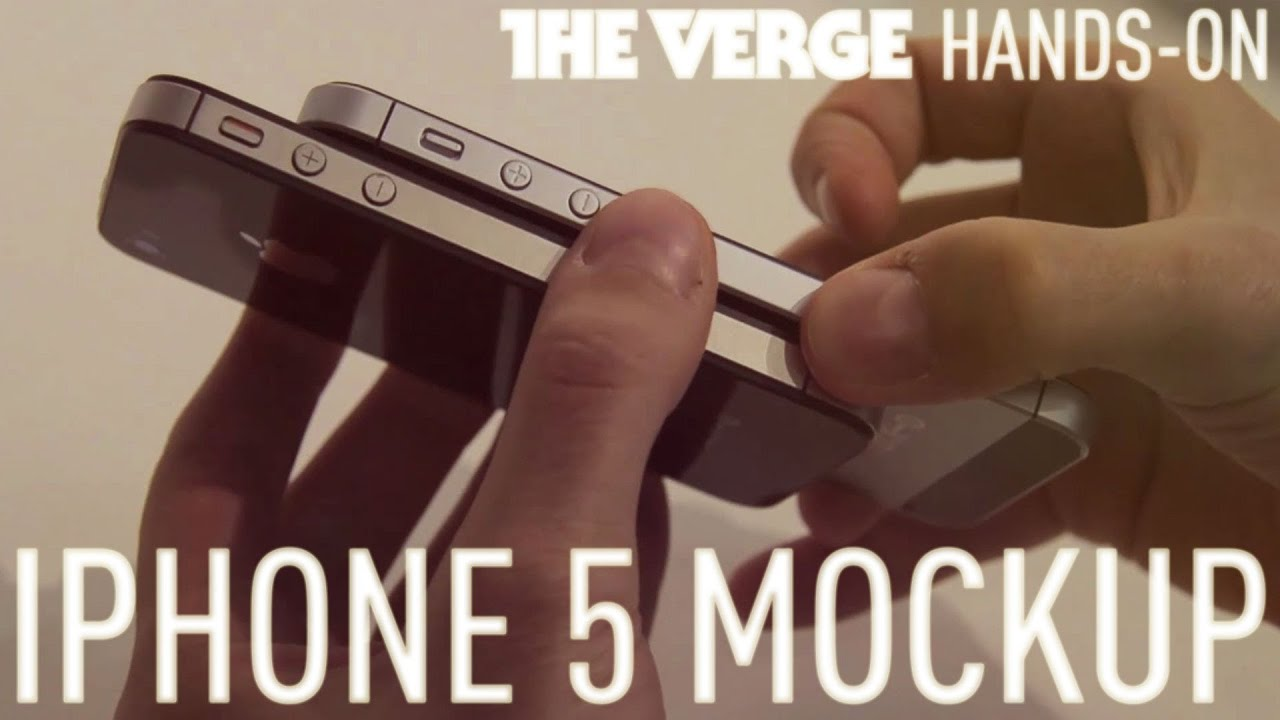 iPhone 5 Mockup Shows How Taller Design Stacks Up Against iPhone 4S