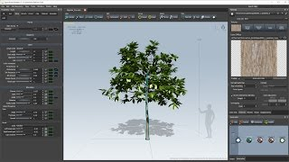 LushLOD Trees vs SpeedTree (Transition Smoothness) - Most