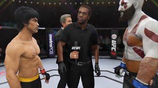 Bruce Lee Vs Kratos | GOD OF WAR!!! EA Sports UFC 3