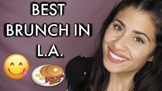 Best Brunch & Breakfast Spots In LA | Veronica Natal