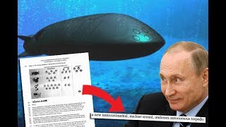Russia's Nuclear Underwater Drone Is Real Could Set Off Tidal Waves to Wipe Out Coastal Cities - Video Youtube