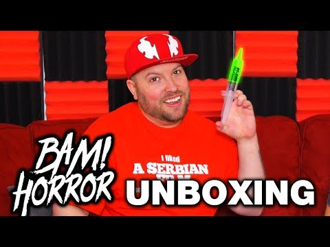 Bam Box Horror March 2019 Unboxing - Horror Subscription Box