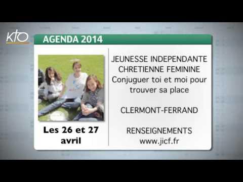 Agenda du 21 avril 2014