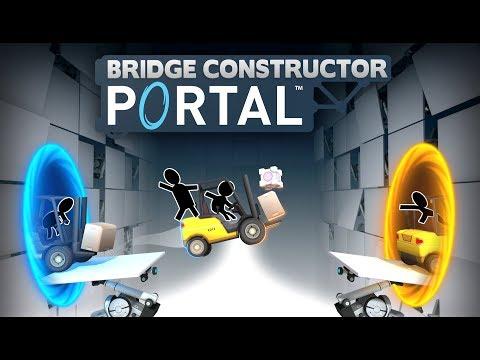 Trailer d'annonce de Bridge Constructor Portal