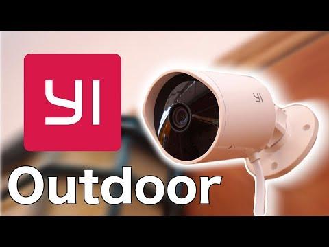 📹 La cámara IP YI OUTDOOR 1080P para vigilancia exterior