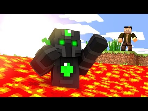 NADANDO EN LAVA!! WIPEOUT | Minecraft Race Map