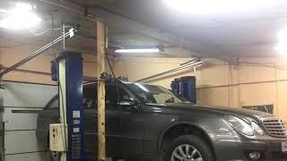 Mercedes W211. Ремонт карданного вала. Снятие/Установка. Замена крестовины. Балансировка. Гарантия!