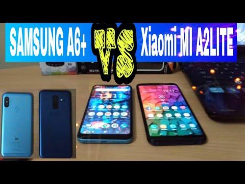 Xiaomi MI A2 LITE VS Samsung A6 Plus