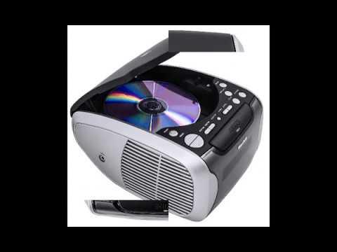 PLL-FM-Radio (CD-Player, PLL-FM-Radio, AUX-In, Weckfunktion, Snooze, Dual-Alarm)