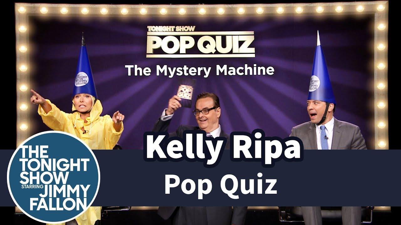 Pop Quiz with Kelly Ripa -- Part 1 thumbnail