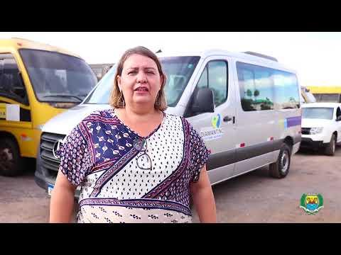 Governo Diamantino recebe van escolar 0km para transporte de alunos