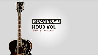 """Video thumbnail of """"Houd Vol - Gitaar Tutorial"""""""