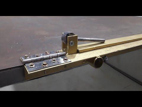 Homemade tool | How To Make Sheet Metal Bending Tool | Sheet Metal Brake