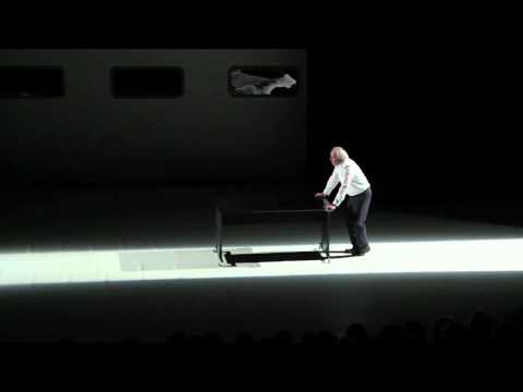 Teaser : ANCIEN MALADE DES HÔPITAUX DE PARIS de Daniel Pennac au Théâtre de l'Atelier.