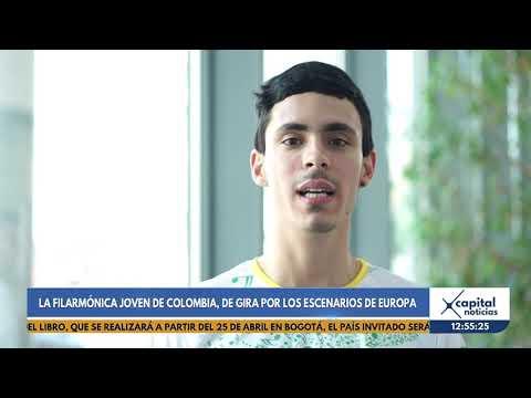 Filarmonica Joven de Colombia estara de gira por los escenarios de Europa