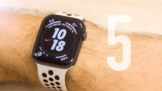 Nike+ Watch Series 5 Review - Game Changer...In Two Different Ways