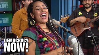 Lila Downs Interview And Performance At Democracy Now!