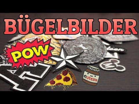 ROCKERKUTTE Patches / Bügelbilder  ❌AUFBÜGELN  - Anleitung   ⭐⭐⭐⭐⭐