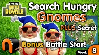 """Search Hungry Gnomes"" FORTNITE All Hungry Gnome Locations"