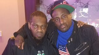 Oschino and Beanie Sigel squash beef at the Suger House Casino