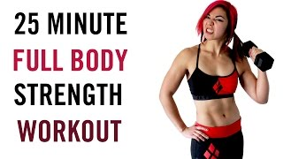 25 Minute Full Body Strength with Dumbbells Workout | FAT BURNER by Kat Musni Fitness