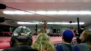 MV Young rips into the VOW deathmatch crowd! Then Devon Moore throws him through glass!