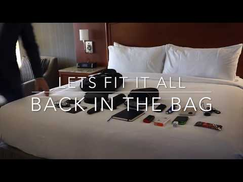 What's In My Travel Bag?   Travel and Tech Review from Trip to JW Marriott Houston