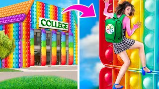 Escaping from the Pop It College!