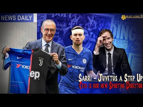 SARRI SPEAKS OUT ABOUT CHELSEA TIME || JORGINHO OPEN TO JUVENTUS?