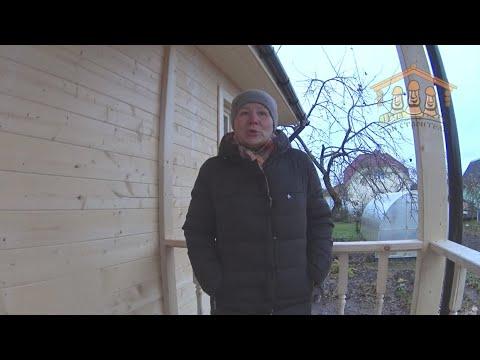 Львов В.В. - видеоотзыв о строительстве