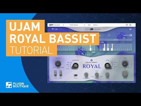 Making Reggae Basslines | Royal Virtual Bassist by UJAM | Tutorial