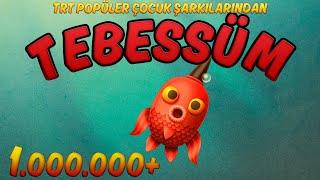 Tebessüm Şarkı Sözleri   👶Çizgi Animasyon   Fatih Peşmen   TRT Popüler Çocuk Şarkıları