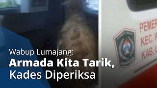 Pasca-viral Video Ambulans Desa Dipakai Angkut Kambing, Wabup Lumajang: Kita Tarik, Kades Diperiksa