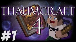 Thaumcraft 4: Getting Started - Aspects, Nodes And Basic Crafting #1