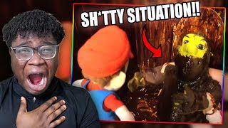 JEFFY GETS INTO A MESSY SITUATION! | SML Movie: The Ring Reaction!