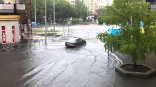 preview picture of video 'Kecskemét, Kőhíd utca özönvíz HD 2011.07.29.'