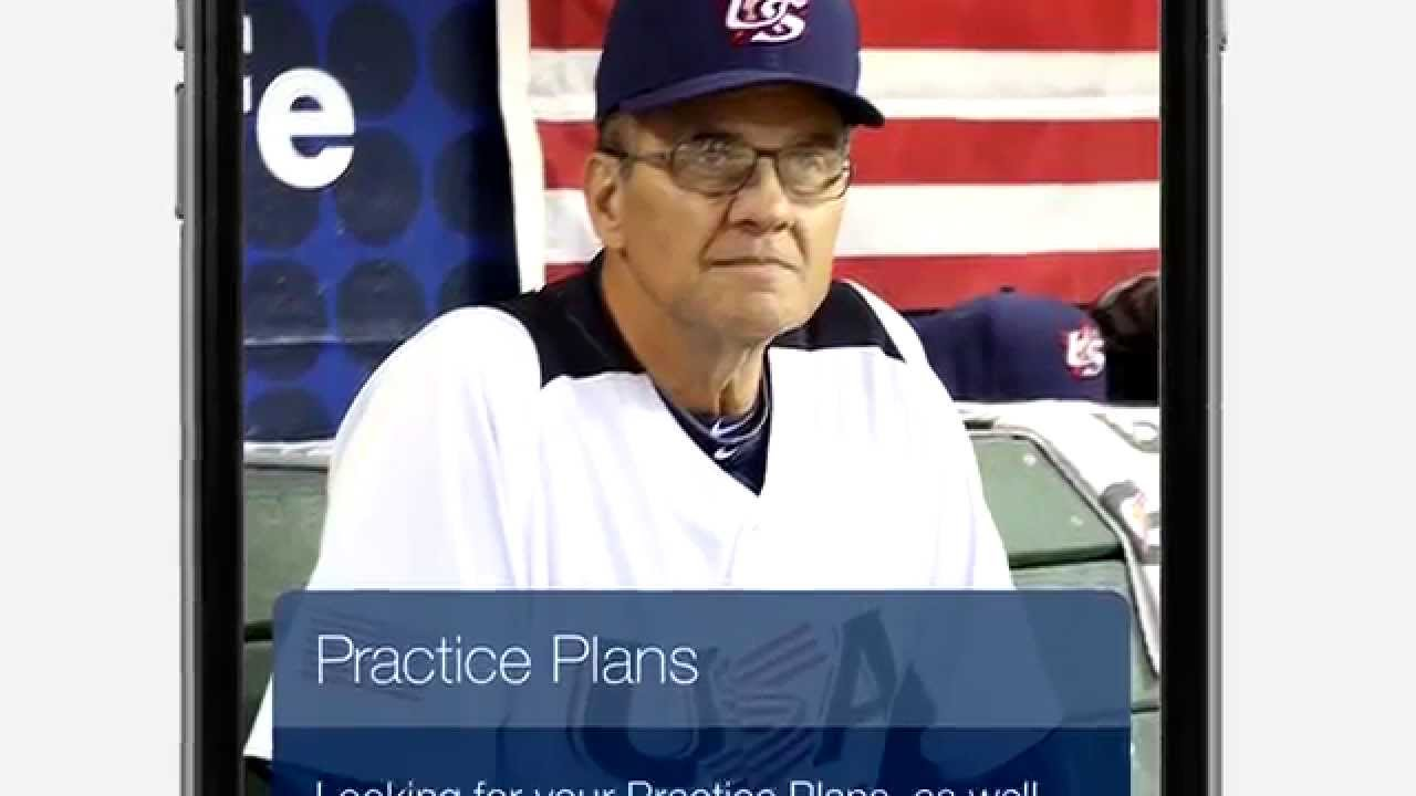 USOC US Olympic Committee Baseball App
